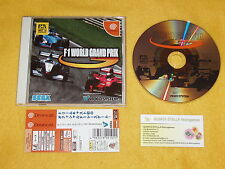 F1 WORLD GRAND PRIX SEGA DREAMCAST DC JAPAN NTSC IMPORT LOOK PHOTO JPN JAP