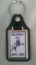 Millwall F.C leather fob  Keyring . Ideal gift for Millwall fan.