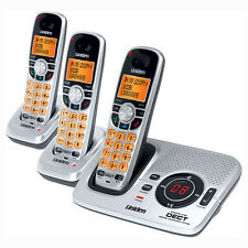 UNIDEN 6.0 DIGITAL CORDLESS PHONE DECT 2035+2  WIFI 3 HANDSETS ANS/MACHINE
