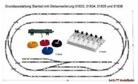 TT Gleiserweiterungs-Sets Tillig Bettungsgleis NEU