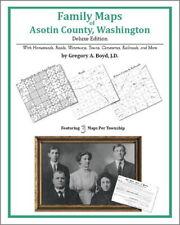 Family Maps Asotin County Washington Genealogy WA Plat