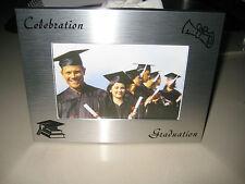Silver Graduation  Photo Frame Primary School University Tafe Memories Gift