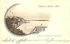 Ricordo di ORTONA A MARE  -  Il Porto e la Stazione Ferroviaria
