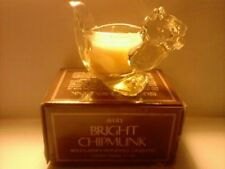 Vintage 1978 Avon Bright Chipmunk Candle-Spice Garden-New In Box-Free Shipping