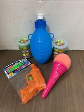 Party Pack Summer Bundle Water Gun Slime Football Bottle Spring loaded Ice Cream