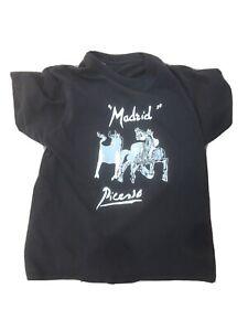 Rare VTG 90s Pablo Picasso Madrid Art T-Shirt Mens M
