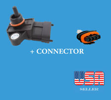 Manifold Pressure (MAP) Sensor With Electrical Connector Fit: Hyundai & Fit :Kia