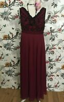 *BNWT* Joanna Hope Stunning Sequin Maxi Dress Deco Size 12 Flapper 1920s Party