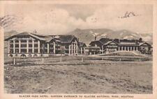 Postcard Glacier Park Hotel Eastern Entrance Ntl Park Montana