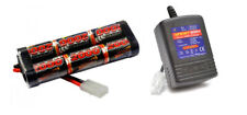 7.2 Volt Battery & Fast Charger for RC Radio Remote Control RC Cars Tamiya