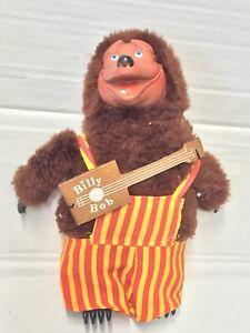 "Showbiz Pizza Place VINTAGE 9"" Billy Bob ROCK-AFIRE EXPLOSION RARE w/GUITAR!"