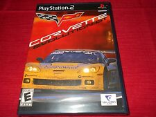 CORVETTE EVOLUTION GT PS2 FACTORY SEALED!!! MUST L@@K!!! FAST FREE SHIPPING!!!