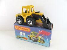 """MATCHBOX SUPERFAST 29 C TRACTEUR PELLE-Noir Int & Base - """"Cat"""" - Menthe/boxed"""