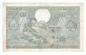 BELGIUM BANKNOTE 100 FRANCS/20 BELGAS 1942