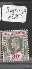 MALAYA STRAITS SETTLEMENTS (PP1201B) KE 30C  SG 134A  MOG
