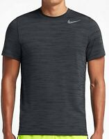NIKE 644369 Dri-FIT Touch Heathered Crew Neck Tee T-Shirt Men's Size Small S