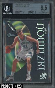 1998-99 Skybox E-X Century #68 Dirk Nowitzki RC Rookie Mavericks BGS 8.5 NM-MT+