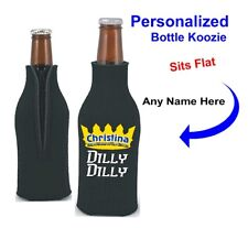 Dilly Dilly True Friend of the Crown Neoprene 12oz Bottle Coolie - Personalized