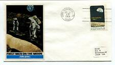 1969 First Men on the Moon Cape Canaveral Florida USA Space Cover