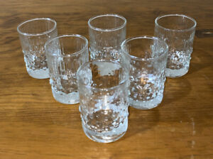 6 Iittala Finland Tapio Wirkkala Mesi Shot Glasses Liqueur Scandinavian 60ml
