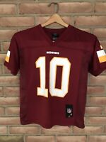 Robert Griffin iii NFL Washington Redskins Maroon Jersey Youth Size Small (8)