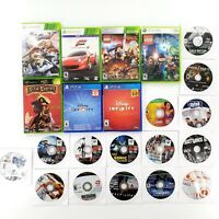 Video Game Lot Of 22 Various Mixed Xbox 360, Xbox, Wii, PS3 Tested & Works