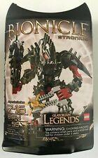Lego Bionicle Glatorian Legends Stronius (8984) BRAND NEW FACTORY SEALED! 2009