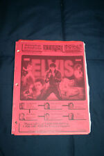Stern Elvis pinball machine manual (#Man094)