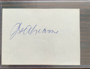 Bunny Ahearne Autograph Album Page Impossible!