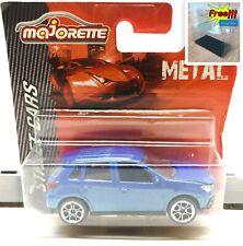 Majorette Mitsubishi ASX Blue 1/57 292H Short Package Free Display Box