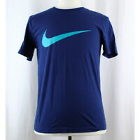 Nike Men's 100% Cotton Short Sleeve Crew Neck Swoosh Tee T-Shirt