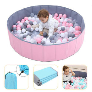 Foldable Ocean Ball Pit Kids Baby Portable Pool Children Game Play Toy Indoor Z