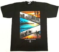 CALIFORNIA DREAMING T-shirt Cali Republic Beach Surf Skate Men's Tee New