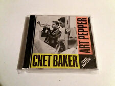 "CHET BAKER ART PEPPER ""THE ROUTE"" CD 11 TRACKS COMO NUEVO"