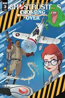 Ghostbusters Crossing Over #3 IDW  Cover A 2018 1ST PRINT