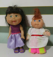 Lot of 2x Cabbage Patch Children's Dolls 11cm Tall!