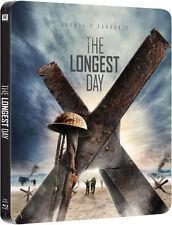 DER LÄNGSTE TAG (John Wayne, Robert Mitchum) Blu-ray Disc, Steelbook NEU+OVP UK