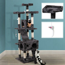 """67"""" Cat Tree Tower Condo Furniture Scratching Post Pet Kitty Play House New"""