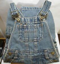 OshKosh Genuin Kids Denim Overall Blue Jeans Jumper Pants Childs 18M