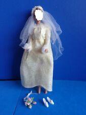 "VINTAGE MOD BARBIE OUTFIT ""WINTER WEDDING"" #1880 1969"