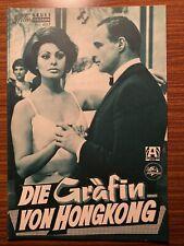 Neues Film-Programm Nr. 4517: Die Gräfin von Hongkong (Marlon Brando)