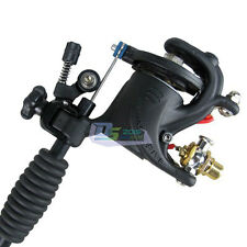 Pro Black Swashdrive Rotary Liner Shader Tattoo Machine Gun W/ RCA Connector