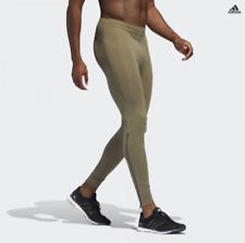 NWT Adidas DQ1887 Men Running tights Supernova khaki $80