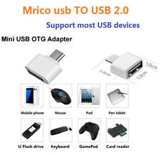 OTG ADAPTER MICRO USB MALE TO USB Female For Android Mobile Phone and Tablet new