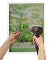 Window Door Screen Repair Patch Mesh Adhesive Strip PICK Charcoal or Silver Gray