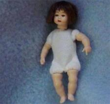 Dollhouse Toddler Doll Undressed HOXKB12 Heidi Ott poseable Brown hair eyes