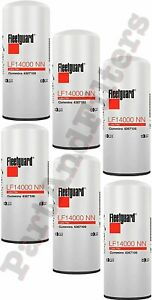 Fleetguard LF14000NN Oil Filter Cummins 4367100 (PACK OF 6)