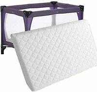 New Baby Cot Foam Mattress Fits Most Graco/M&P Toddler Travel Cots