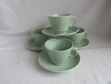 Earthenware 1940-1959 Woods Ware Pottery Cups & Saucers