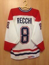 NHL MONTREAL CANADIEN CANADA ICE HOCKEY SHIRT JERSEY MAGLIA CCM MARK RECCHI #8